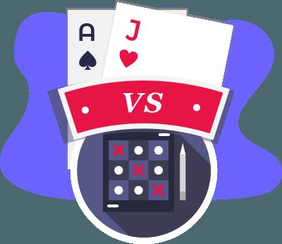 Blackjack vs Bingo Vergleich