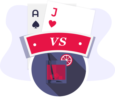 Blackjack Vs Baccarat Comparison