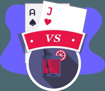 Blackjack Vs Baccarat Comparison