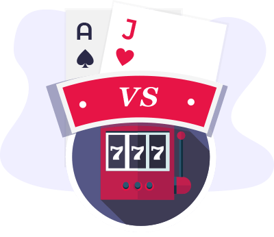 Blackjack Vs Slots Comparison