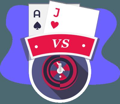 Blackjack Vs Rulet Karşılaştırma