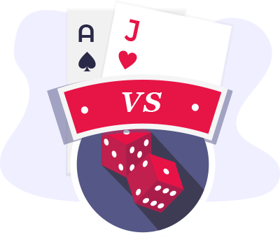 Blackjack Vs Craps Comparison