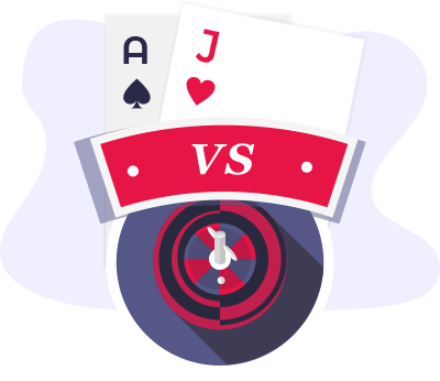 Blackjack Vs Roulette Comparison
